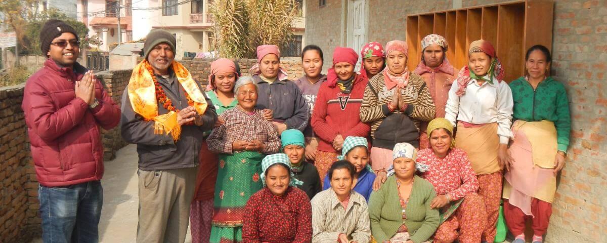 Produccion de Everest Ayurveda, Kathmandu Nepal